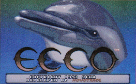 Ecco the Dolphin, Title Screen, Sega