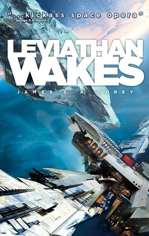 Leviathan Wakes Cover, The Expanse series #1