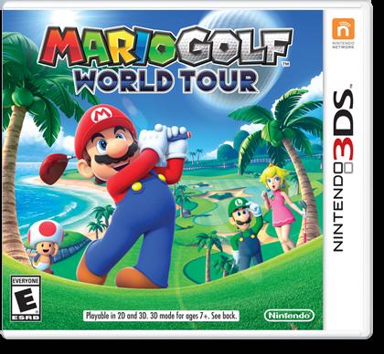 Mario Golf World Tour, Nintendo 3DS