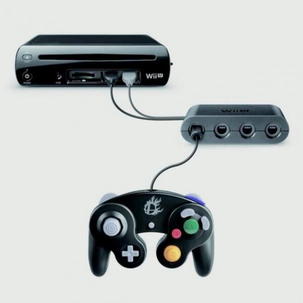 Nintendo Gamecube Controller Adapter, Wii U