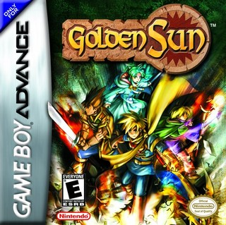 Golden Sun, Game Boy Advance, Box Art