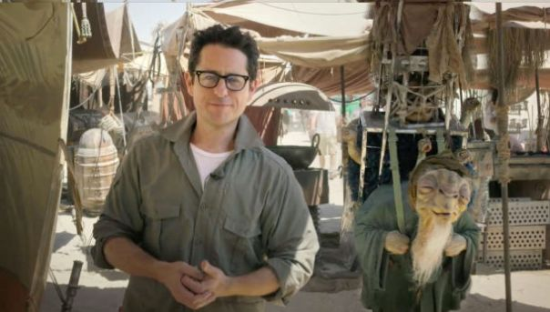 JJ Abrams, Star Wars Episode 7, First image