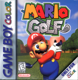 Mario Golf Game Boy Color, Box Art