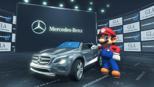Mario Kart 8, Mercedes Benz, Wii U