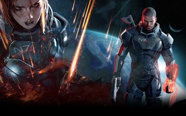 Mass Effect 3. Shepard