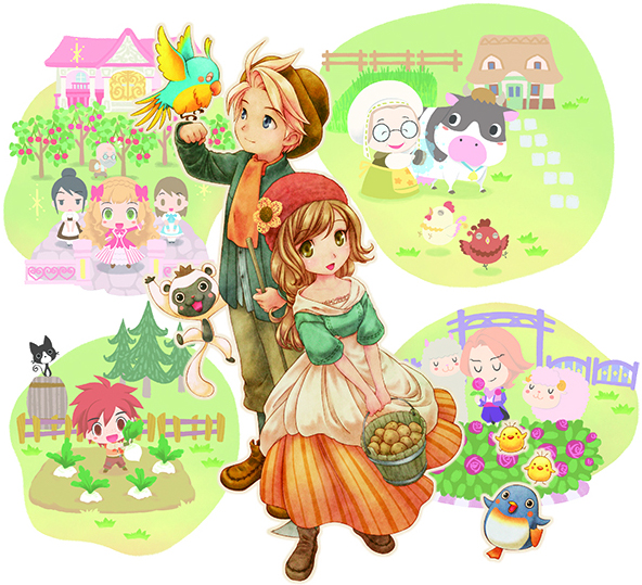 Story of Seasons, Harvest Moon, 3DS