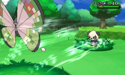 Fancy Pattern Vivillon, Pokémon X & Y