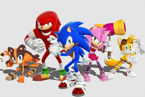Sonic Boom cast, 3DS, Wii U