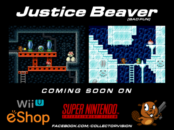 Justice Beaver, SNES, Wii U, Collectorvision, Nintendo