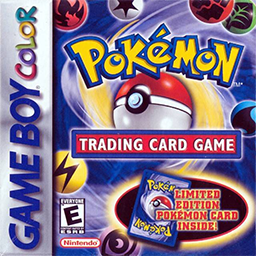 Pokémon Trading Card Game, Game Boy Color, GBC, Box Art