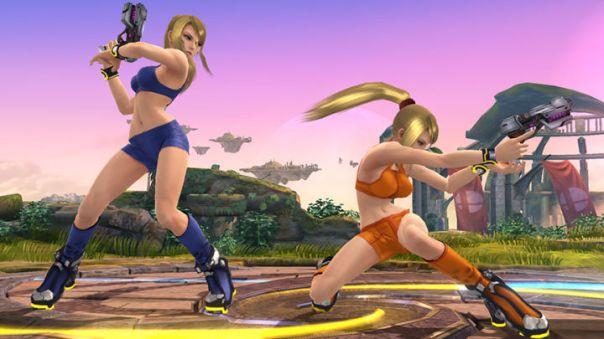 Samus Aran, Zero Suit Samus, Super Smash Bros, Wii U, Nintendo
