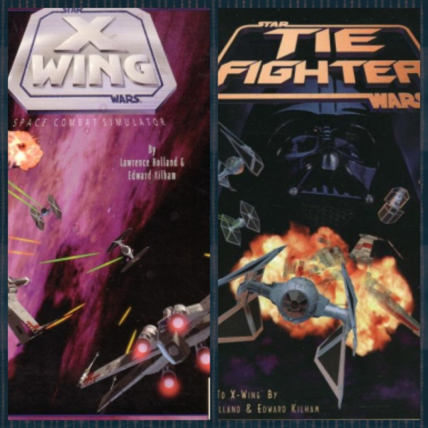 Star Wars: X-Wing, Star Wars: Tie Fighter, Lucasarts