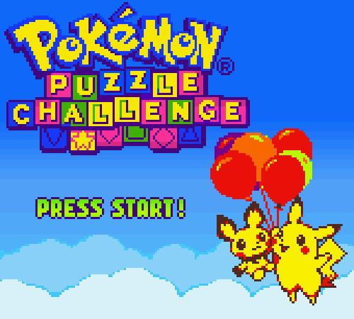 Pokémon Puzzle Challenge, Game Boy Color