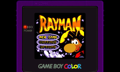 Rayman, Game Boy Color, 3ds Virtual Console